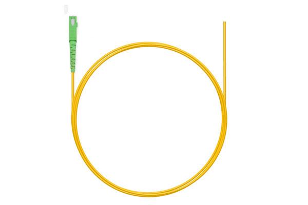 шнур оптический pt SC/APC 9/125мкм 1.5м LSZH (пигтейл)