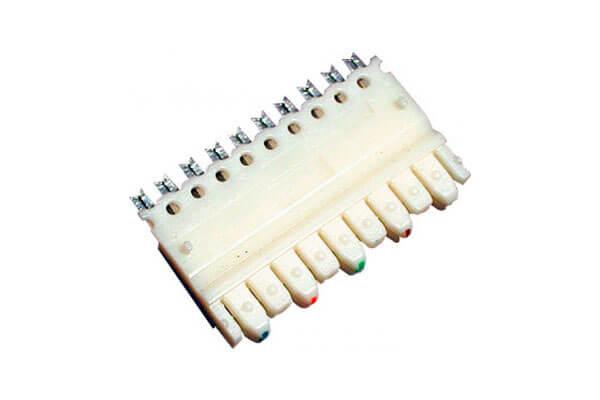 коннектор (модуль) 110 типа, 5-парный