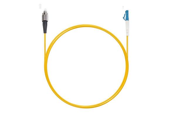 шнур оптический LC/UPC-FC/UPC 9/125 3.0мм 1м LSZH (патч-корд)