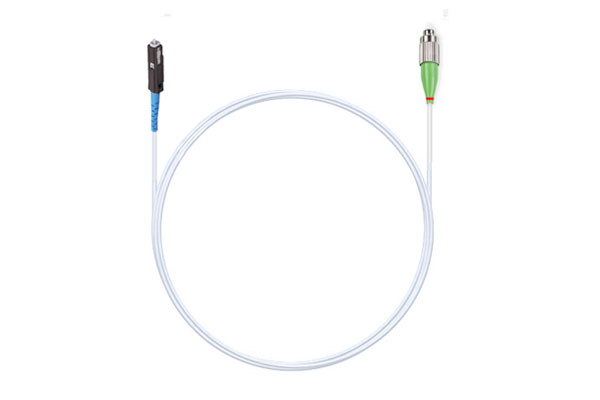 шнур оптический MU/UPC-FC/APC 9/125 3.0мм 1м LSZH (патч-корд)